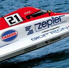 Zepter F1 Powerboat Sponsorship