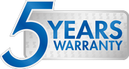 the 5 year warranty